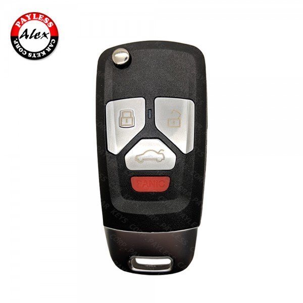 REMOTE HEAD KEY ID48 HU66 BLADE AFTERMARKET FOR AUDI A6