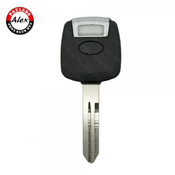 KEY SHELL WITH TRANSPONDER SLOT FOR INFINITI