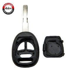 REMOTE HEAD KEY SHELL 2TRACK PN 30584617 FOR SAAB 9-3 9-5