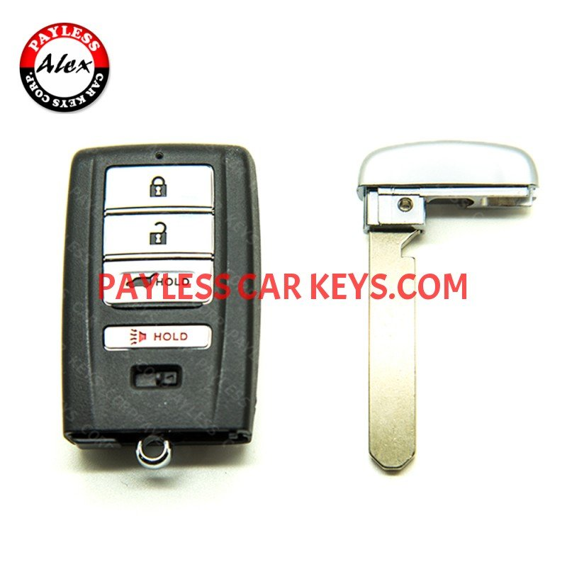 EMERGENCY SERVICE KEY FOR ACURA MDX RDX RLX
