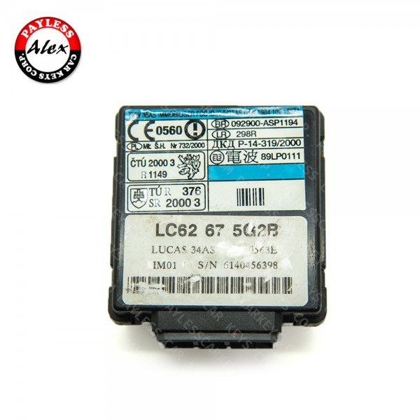 USED IMMOBILIZER MODULE FOR MAZDA 626, MPV