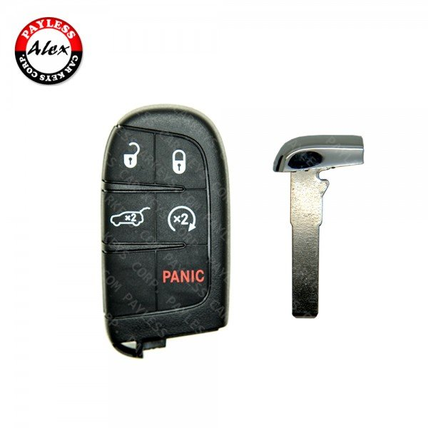 JEEP COMPASS, RENEGADE SMART KEY WITH SERVICE KEY