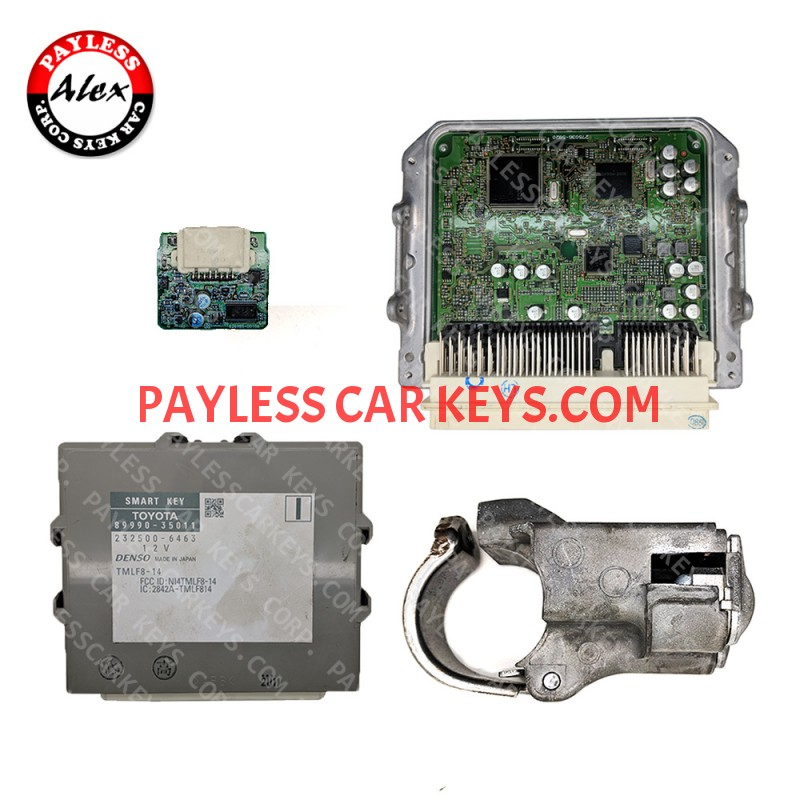 TOYOTA ID BOX ENGINE ECU SMART KEY MODULE STEERING LOCK