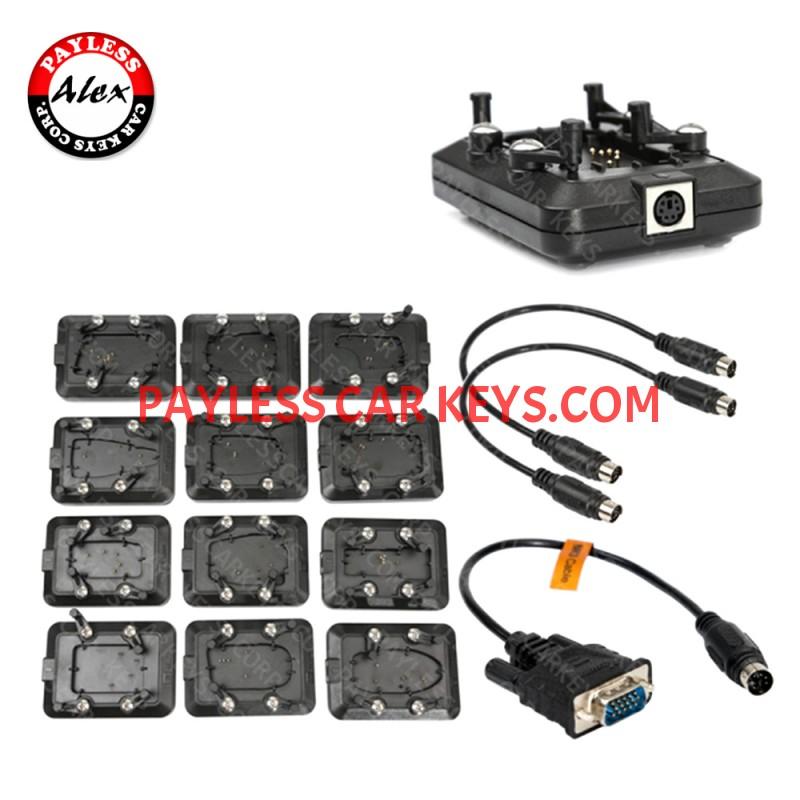 Vvdi Key Tool Plus Unlock Kit 12pcs Renew Adapters