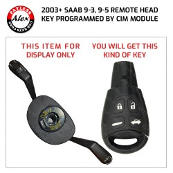 SAAB 9-3 KEY PROGRAMMING SERVICE COMES WITH 2 KEYS