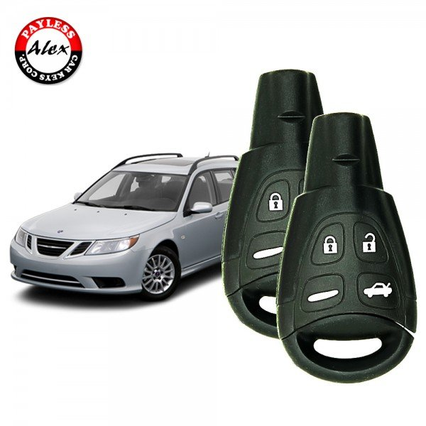 KEY PROGRAMMING SERVICE COMES WITH 2 KEYS FOR SAAB 9-3