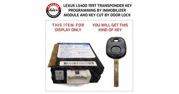 lexus door lock programming