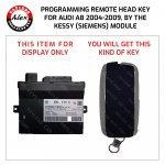 KEY PROGRAMMING SERVICE FOR AUDI A8 2004+