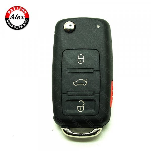 REMOTE HEAD KEY WITH KEYLESS-GO (SMART PCF742) FOR VW TOUAREG 2004-
