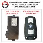 BMW X5 2007+ KEY PROGRAMMING SERVICE INCLUDES NEW KEY