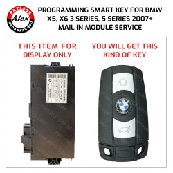 BMW X5 2007+ KEY PROGRAMMING SERVICE INCLUDES NEW KEY