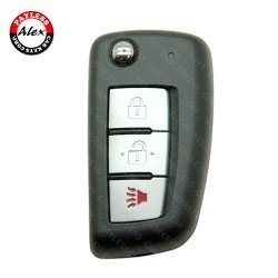 NISSAN ROGUE 2014- REMOTE HEAD KEY CWTWB1G767 433 MHZ