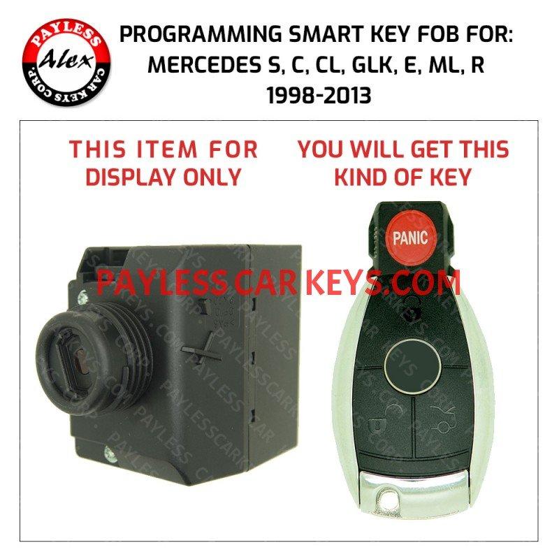 KEY PROGRAMMING SERVICE FOR MERCEDES 1998-2013