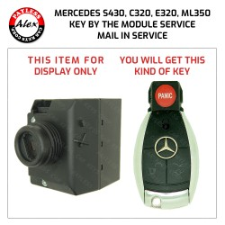 MERCEDES 1998-2013 KEY PROGRAMMING SERVICE