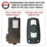 2 KEYS PROGRAMMING SERVICE FOR BMW 2007+ KEYS INCLUDED