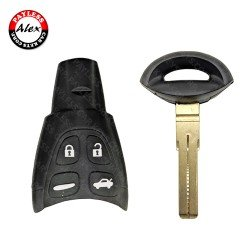 REMOTE EMERGENCY KEY FOR SAAB 9-3 (2003-2007)