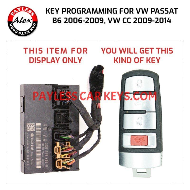 2008 jetta key fob programming