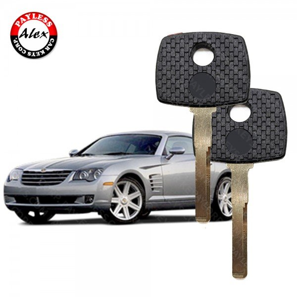 KEY BY LOCK AND PROGRAMMED BY IMMOBOX FOR CHRYSLER CROSSFIRE