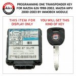 KEY PROGRAMMING SERVICE BY IMMOBOX FOR MAZDA