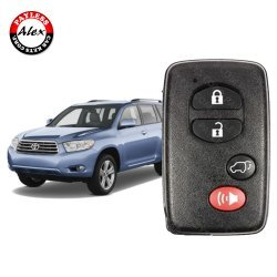 2007-2014 TOYOTA HIGHLANDER SMART KEY 4 BUTTON - HYQ14AAB WITH PROGRAMMING
