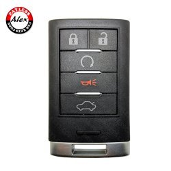 2008-2014 CADILLAC CTS STS SMART KEY 5 BUTTONS - M3N5WY7777A