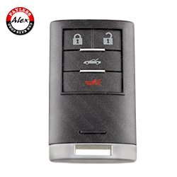 2008 - 2009 CADILLAC XLR SMART KEY 4 BUTTONS - M3N5WY7777A