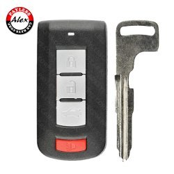 2008 - 2017 MITSUBISHI LANCER SMART KEY 4 BUTTONS - OUC644M-KEY-N