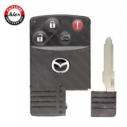 2007 - 2009 MAZDA CX-7, CX-9 SMART CARD 4 BUTTONS