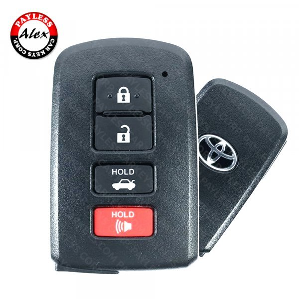 2012 - 2020 TOYOTA SMART KEY 4 BUTTONS - HYQ14FBA - 0020