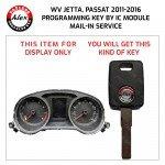 KEY PROGRAMMING FOR VW JETTA, PASSAT 2005-2010