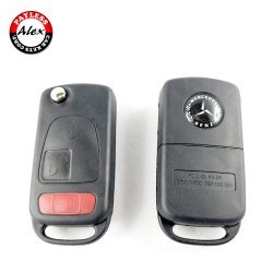 MERCEDES 3 BUTTONS FLIP KEY