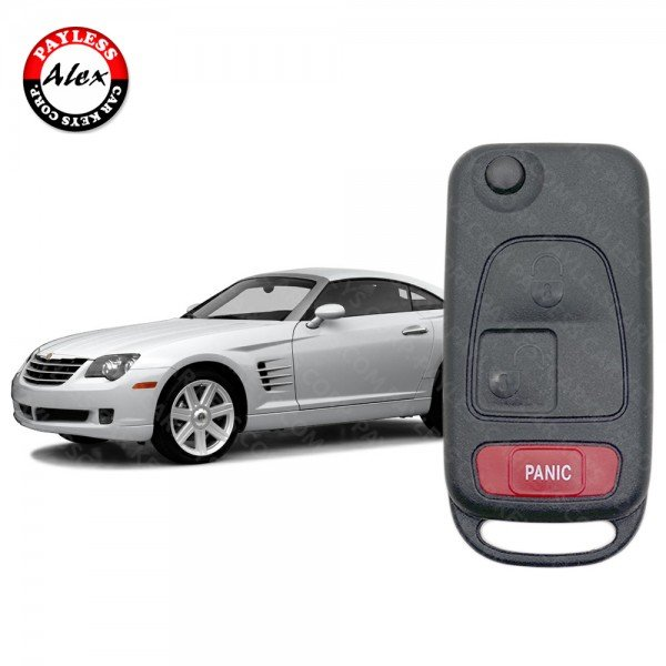 CHRYSLER CROSSFIRE KEY CUTTING AND REMOTE KEY PROGRAMMING SERVICE BY MAIL